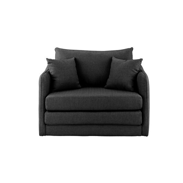 Francisville Convertible Chair by Red Barrel Studio Red Barrel Studio