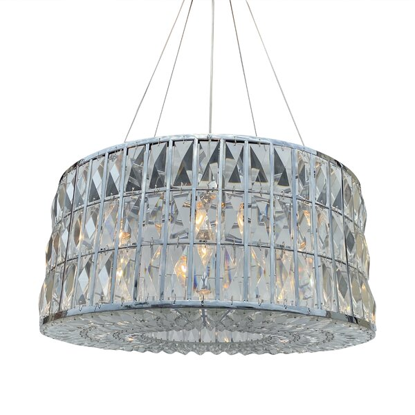 Shoreview 6 - Light Unique Drum Chandelier By Everly Quinn