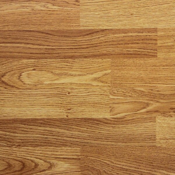8 x 48 x 8.2mm Laminate Flooring in Red Oak (Set of 22) by Serradon