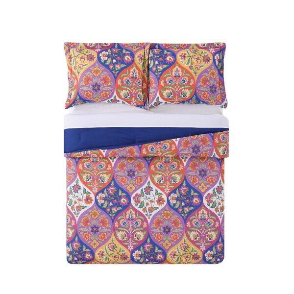 Arroyo Grande Ogee Comforter Set by Bungalow Rose