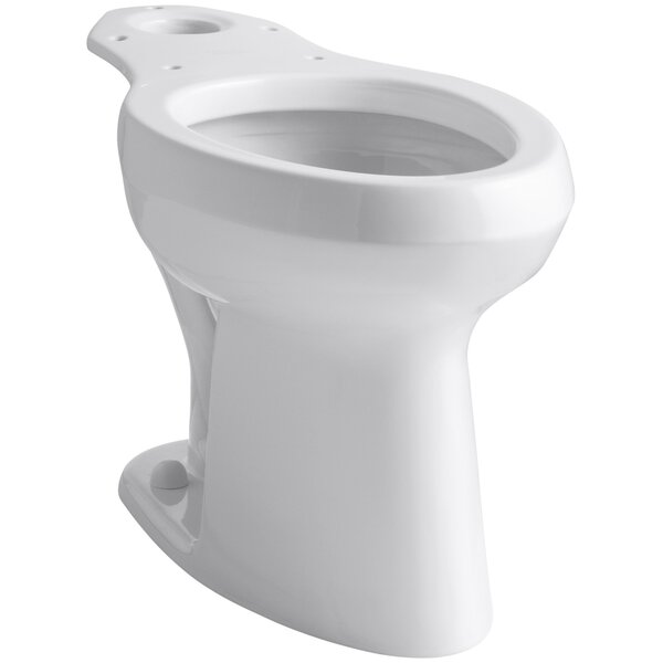 Wellworth 1.4 GPF Elongated Toilet Bowl (Seat Not Included) by Kohler