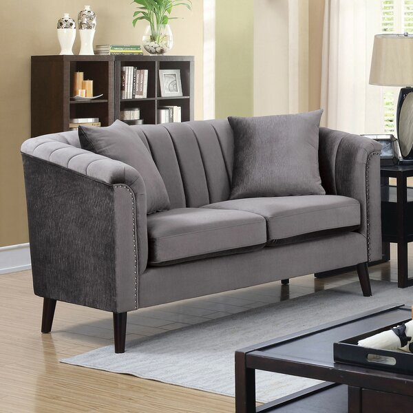 Valuable Quality Salter Loveseat by Rosdorf Park by Rosdorf Park