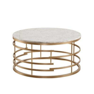 Gold Round Coffee Tables You Ll Love In 2019 Wayfair