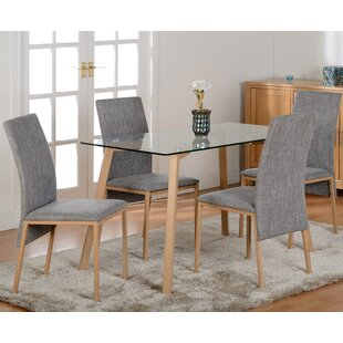 Reba Dining Table And 4 Chairs