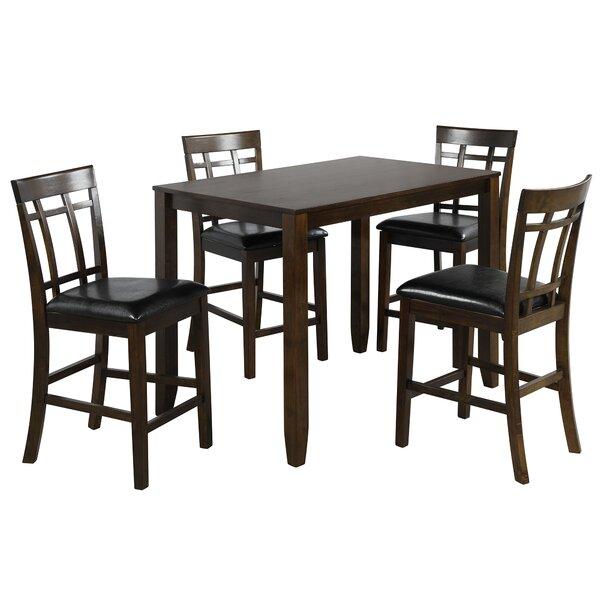 Applewhite 5 Piece Counter Height Dining Set by Red Barrel Studio Red Barrel Studio