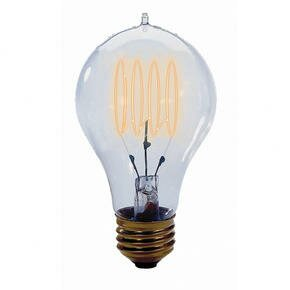 Nostalgic Edison 25W 120-Volt Incandescent Light Bulb (Set of 4) by Bulbrite Industries