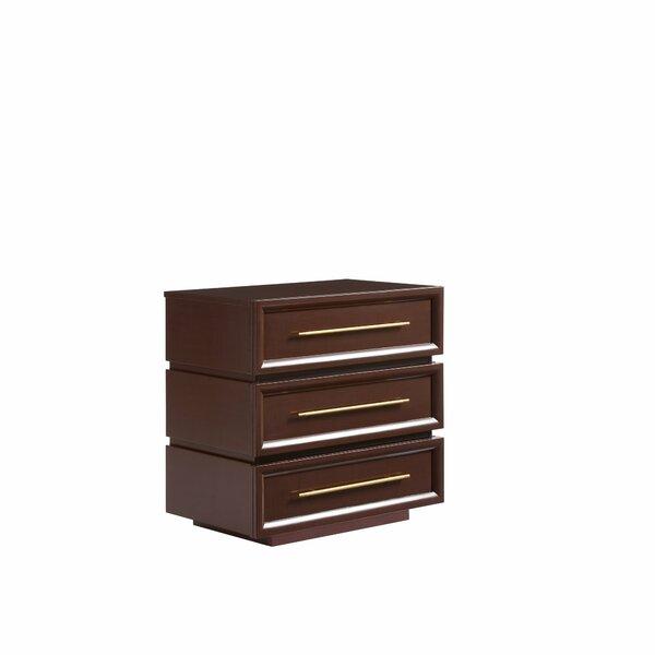 Panavista 3 Drawer Nightstand By Stanley Furniture