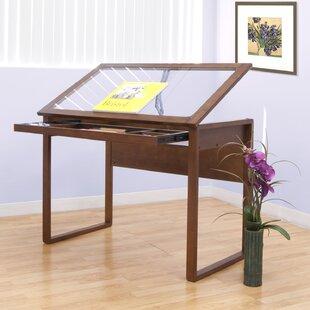 glass light drafting table wayfair