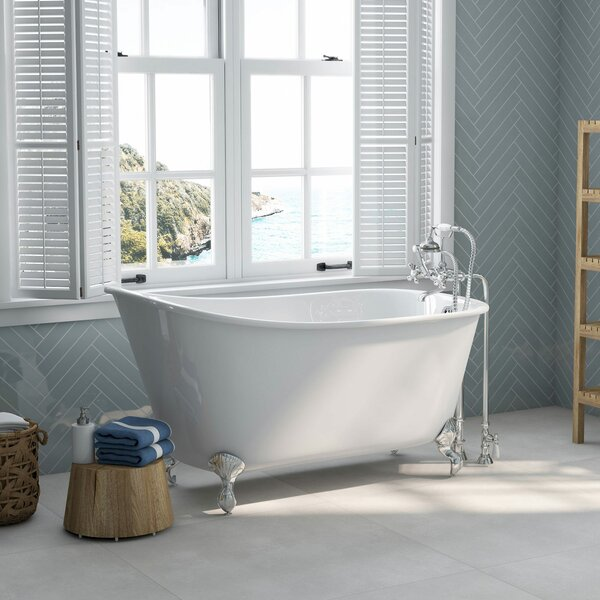 58 x 30 Clawfoot Bathtub by Cambridge Plumbing