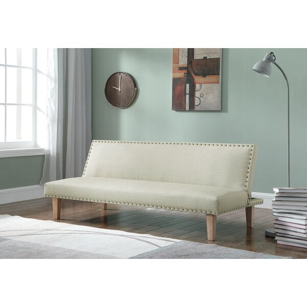 Stirling Upholstered Sleeper by Gracie Oaks