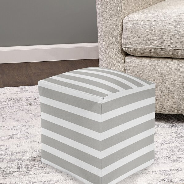 Destini Pouf By Breakwater Bay Great price
