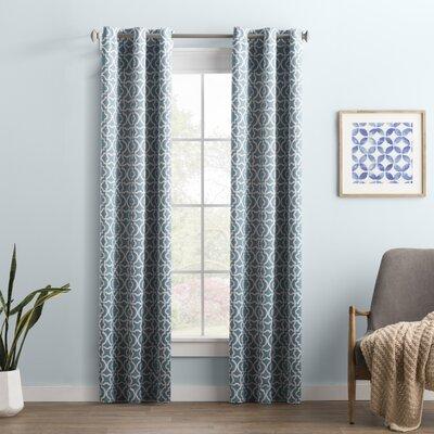 Blue Geometric Curtains Amp Drapes You Ll Love In 2020 Wayfair