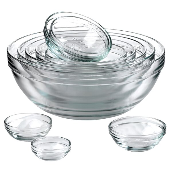 10 Piece Mixing Bowl Set by Anchor Hocking