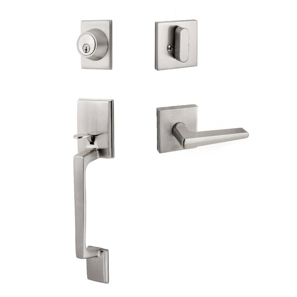 Contemporary Series Single Cylinder Entrance Handleset by Sure-Loc Hardware