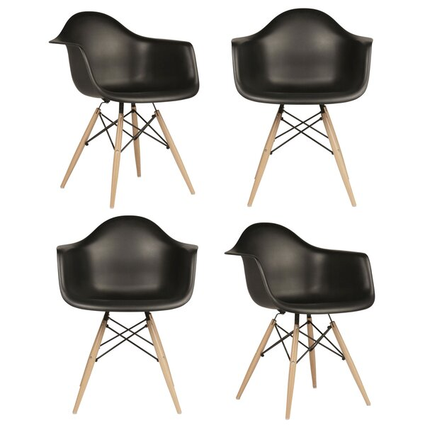 Scandinavian Dining Chair (Set of 4) by eModern Decor