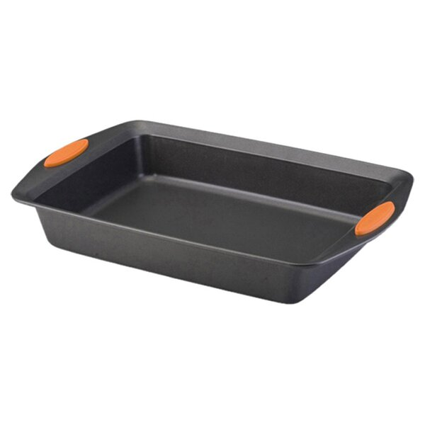 Yum-O Non-Stick Rectangle Cake Pan by Rachael Ray
