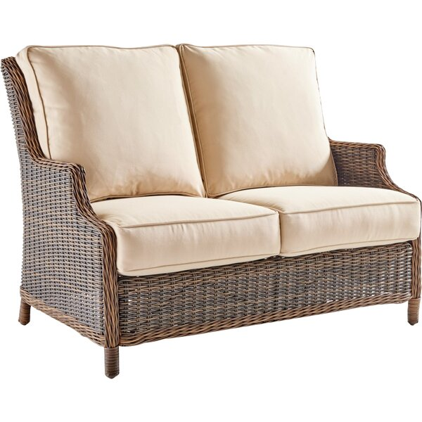Fannin Loveseat with Cushion by Darby Home Co