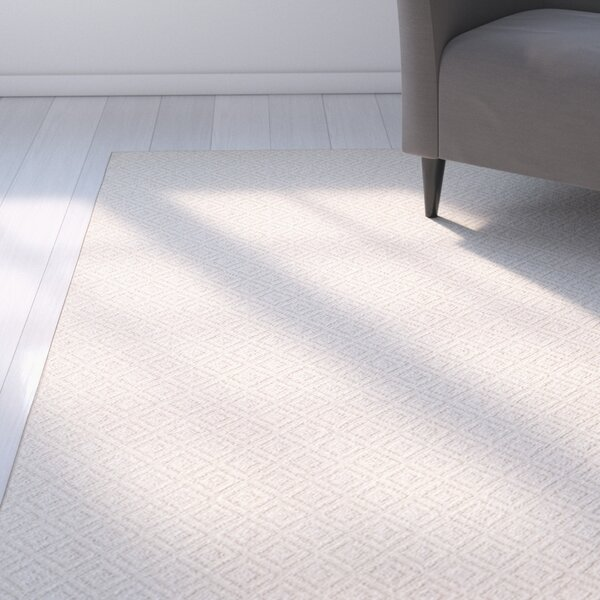 Bettie Hand-Tufted Cream Area Rug by Latitude Run