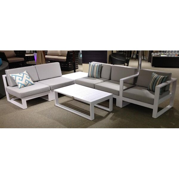 Aruba Aluminum Coffee Table by Feruci
