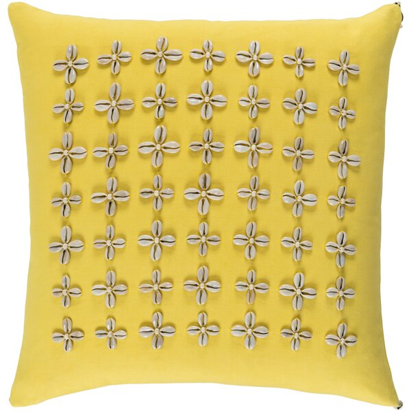 Cherwell Cotton Pillow Cover by Highland Dunes