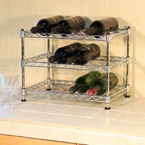 Wayfair Basics 12 Bottle Tabletop Wine Rack by Wayfair Basics™