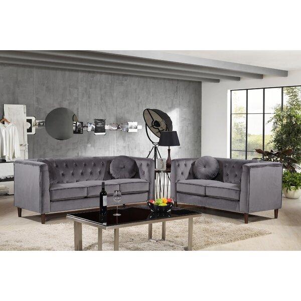 Gladiolus 2 Piece Living Room Set by Mercer41