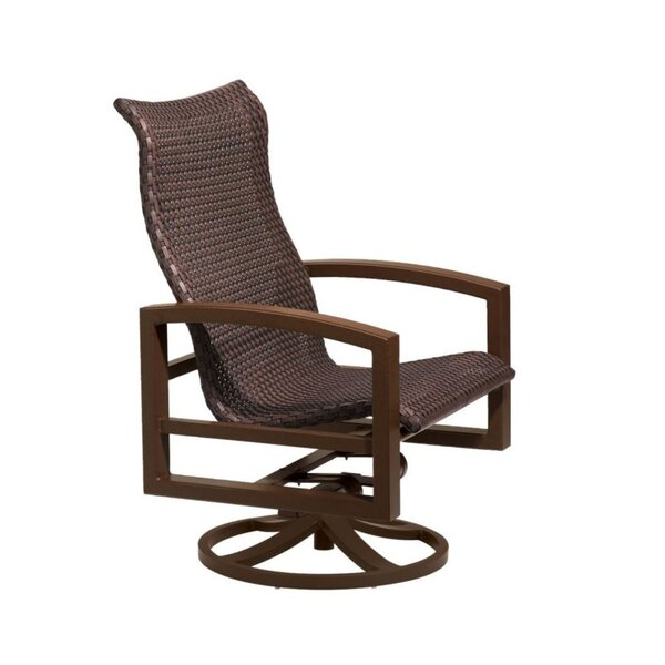 Lakeside Woven Swivel Action Lounger with Cushions by Tropitone Tropitone