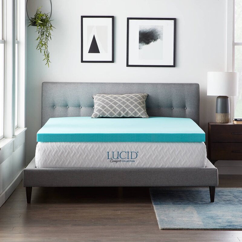 Lucidcomfortcollection Lucid Comfort Collection 3 Gel Memory Foam
