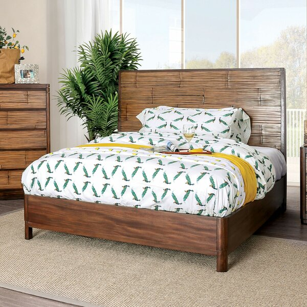 Lavina Wooden Platform Bed by Millwood Pines