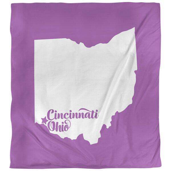Cincinnati Ohio Duvet Cover