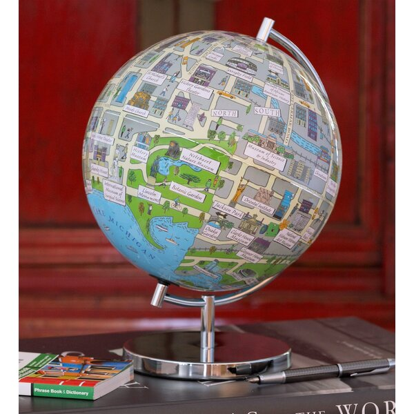 Chicago Night Lights Globe by Waypoint Geographic