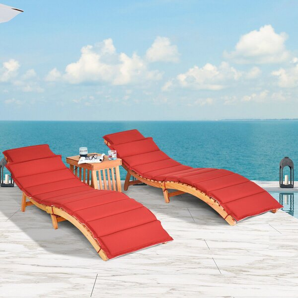 Armanni Sun Lounger Set with Cushion and Table