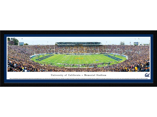 NCAA California Berkeley, University of by Christopher Gjevre Framed Photographic Print by Blakeway Worldwide Panoramas, Inc