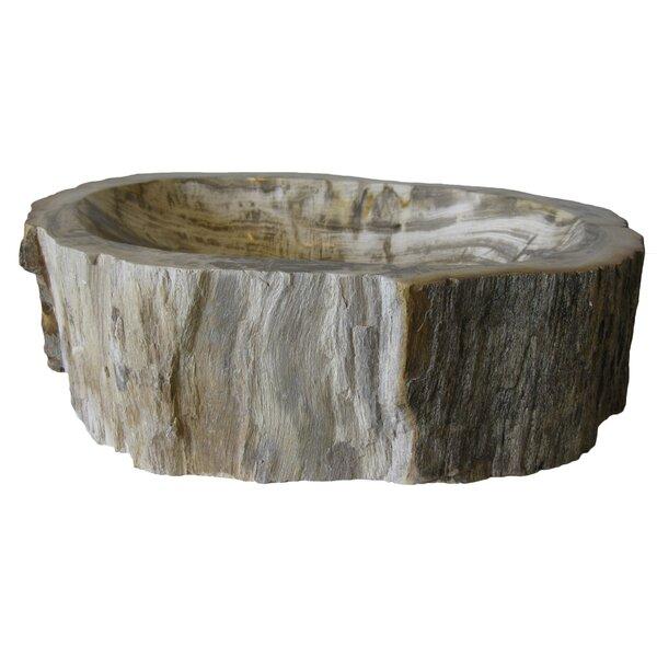 Wood Vessel Bathroom Sink by Novatto
