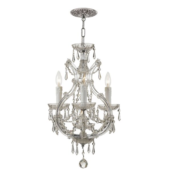 Griffiths 3 - Light Candle Style Empire Chandelier By House Of Hampton