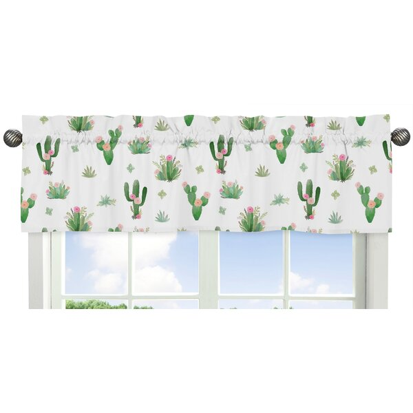 Cactus Floral 54 Window Valance by Sweet Jojo Designs