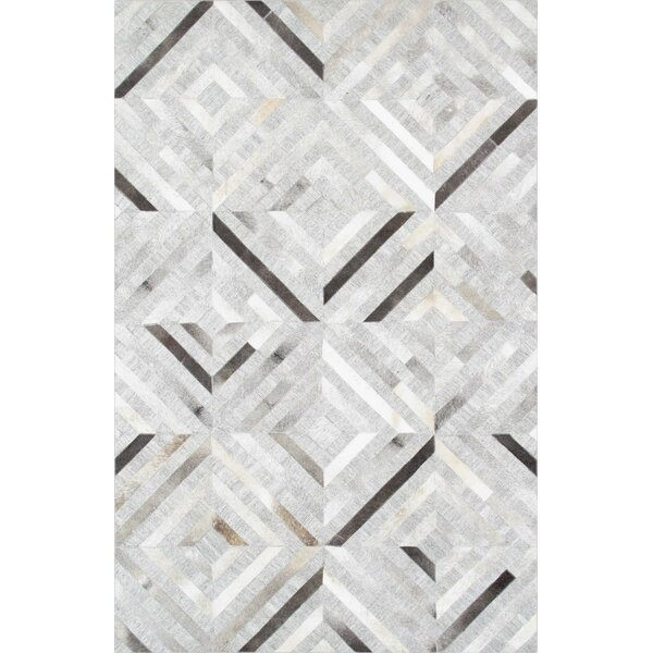 Hand-Loomed Silver Area Rug by Pasargad