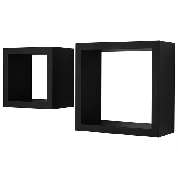 2 Piece Wall Shelf Set By Adeco Trading