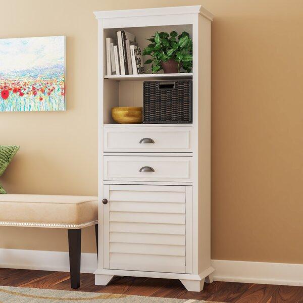 Crenshaw 60.13 H x 23.5 W x 11.63 D Free-Standing Linen Cabinet