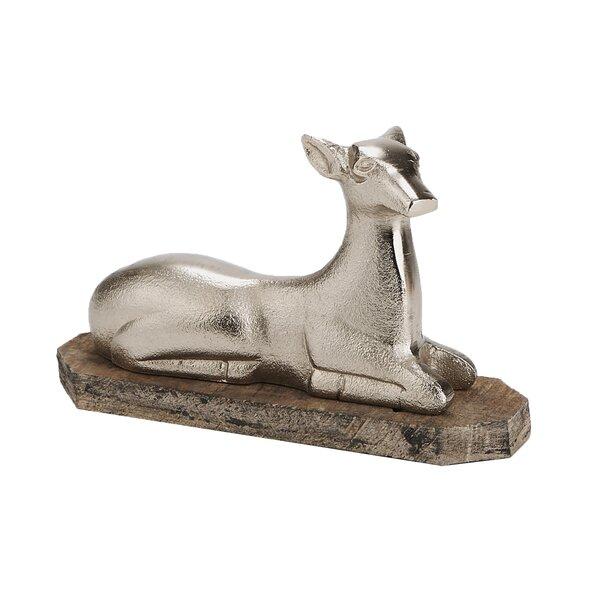 Decorative Aluminum Reindeer By Mind Reader