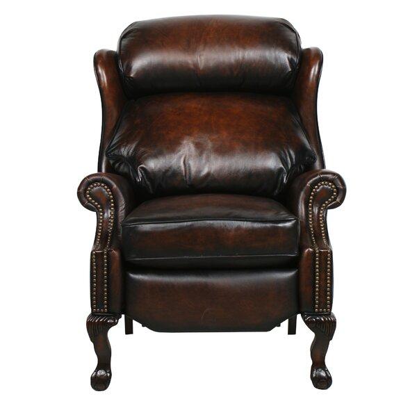 Donatella Leather Recliner by Astoria Grand