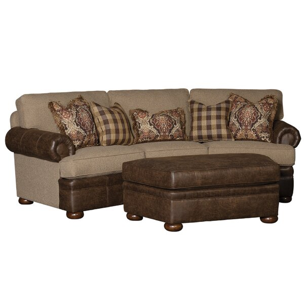 Bedingfield Round Arm Sofa By Fleur De Lis Living