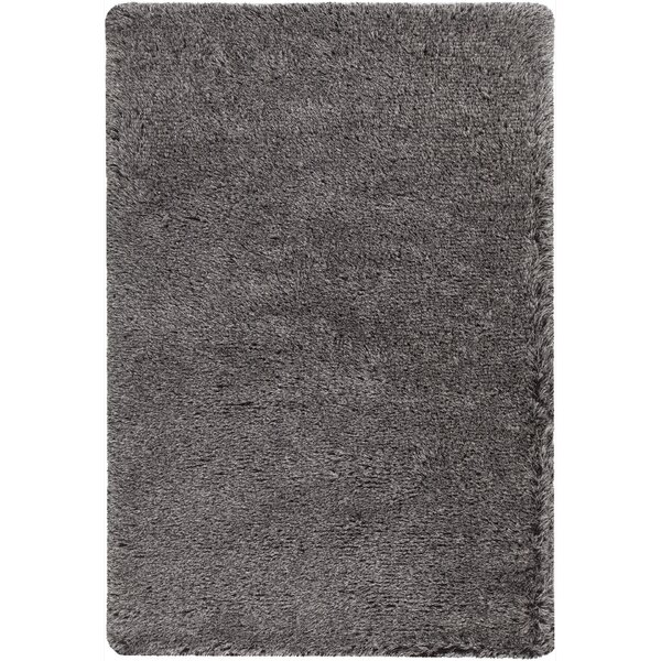 Gareth Hand-Woven Silver Area Rug by Everly Quinn