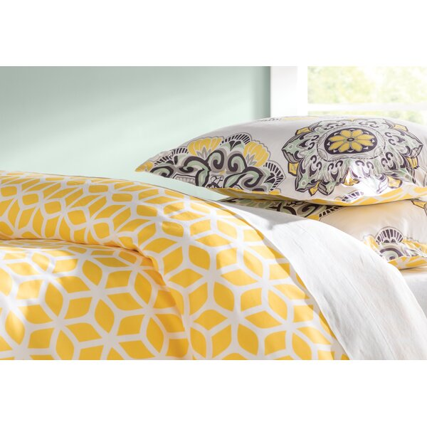 Ibiza 3 Piece Reversible Duvet Set by Chic Home