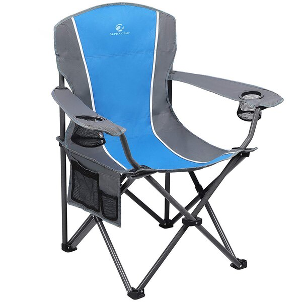 Oversized Arm Folding Camping Chair by Alpha Camp Alpha Camp
