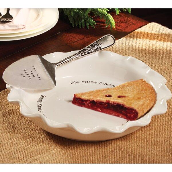 Circa 2 Piece Pie Serving Plate Set by Mud Pie™