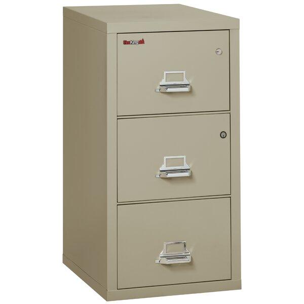 Legal Safe-In-A-File Fireproof 3-Drawer Vertical File Cabinet