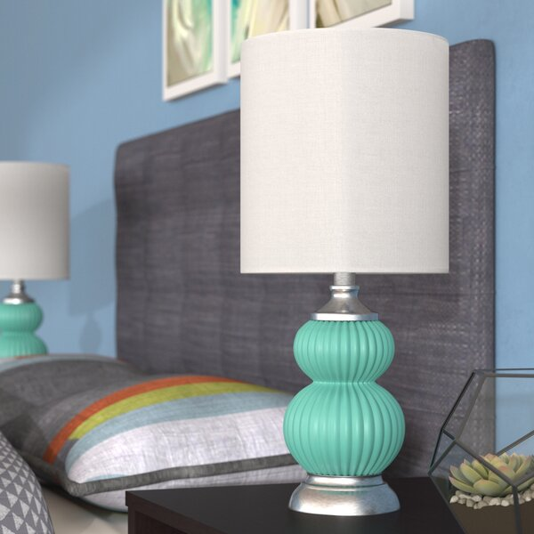 KC Glass 21 Table Lamp (Set of 2) by Latitude Run
