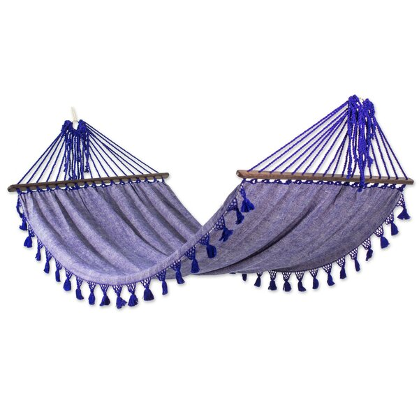 'Fair Trade Take Me to the Sky' Tree Hammock by Novica
