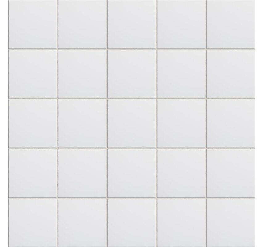 White 6x6 Ceramic Tile Image Collections Modern Flooring Pattern